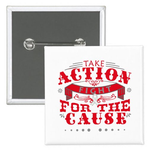 Emphysema Take Action Fight For The Cause Buttons