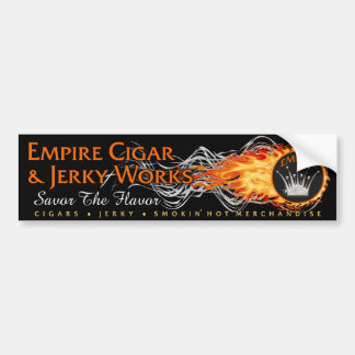 EMPIRE Cigar & Jerky Works Bumpersticker Bumper Sticker