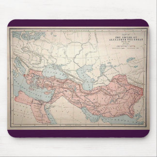 Empire of Alexander the Great Mouse Pad