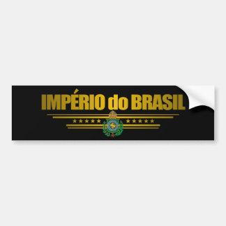"""""""Empire of Brazil"""" Bumper Sticker"""