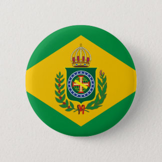 Empire of Brazil flag Button