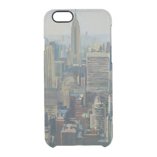 Empire State Building 2012 Clear iPhone 6/6S Case