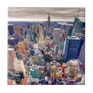 Empire State Building and Midtown Manhattan Ceramic Tiles