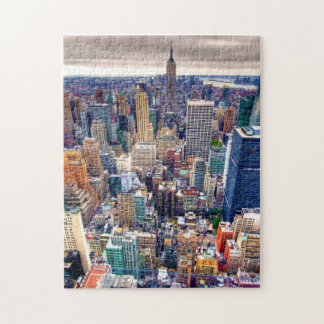 Empire State Building and Midtown Manhattan Jigsaw Puzzle