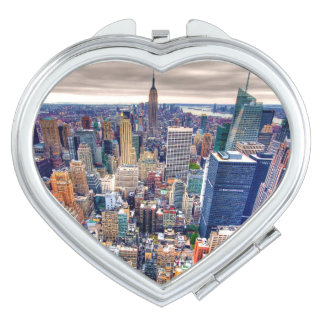 Empire State Building and Midtown Manhattan Makeup Mirror