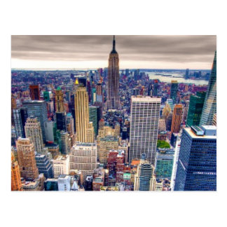 Empire State Building and Midtown Manhattan Postcard
