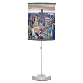 Empire State Building and Midtown Manhattan Table Lamp