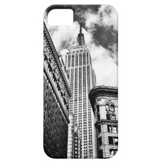 Empire State Building Black and White iPhone 5 Case