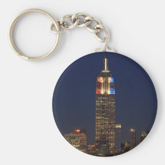 Empire State Building: Election Night 2012 #1 Keychain