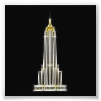 Empire State Building in New York Photographic Print