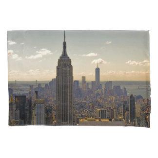 Empire State Building Landscape Skyline Pillowcase