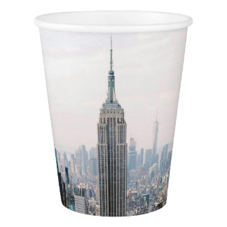Empire State Building Manhattan New York Paper Cup