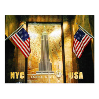 Empire State Building, New York City Postcard