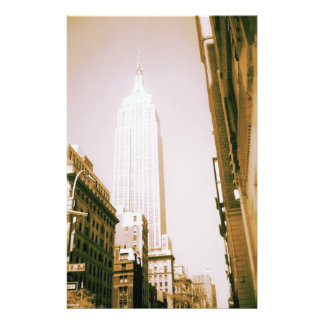 Empire State Building, New York City Stationery