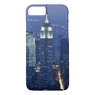 Empire State Building Night Skyline iPhone 7 Case