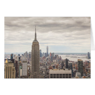 Empire State Building, NYC Card