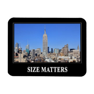 Empire State Building, NYC Skyline: Size Matters Magnet