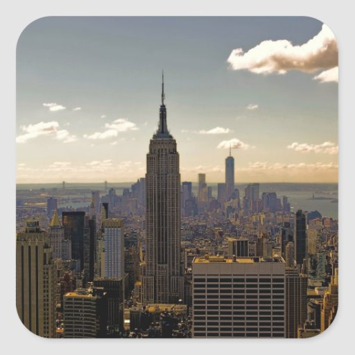 Empire State Building Photo in NYC Sticker