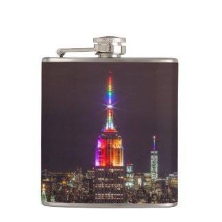 Empire State Building Pride Hip Flask
