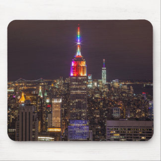 Empire State Building Pride Mouse Pad