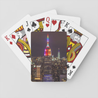 Empire State Building Pride Playing Cards