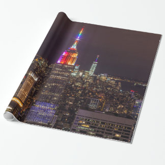 Empire State Building Pride Wrapping Paper