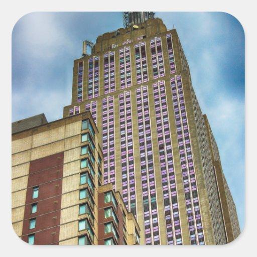 Empire State Building Skyscraper Photo Sticker