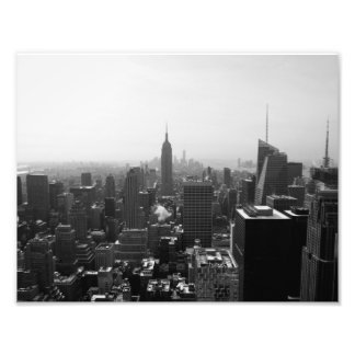 Empire State Building view from Rockefeller Photo Print