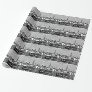Empire State New York City Wrapping Paper