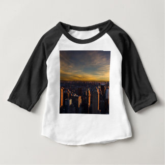 empire state sunset baby T-Shirt