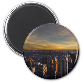 empire state sunset magnet