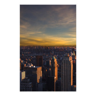 empire state sunset stationery