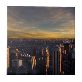 empire state sunset tile