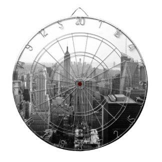 Empire States Building Manhattan Dartboards