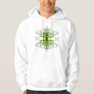 Empire Tribal Tattoo - green Hoodie
