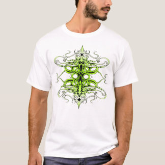 Empire Tribal Tattoo - green T-Shirt