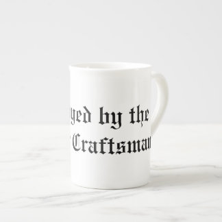 Employed by the Master Craftsman Bone China Mug