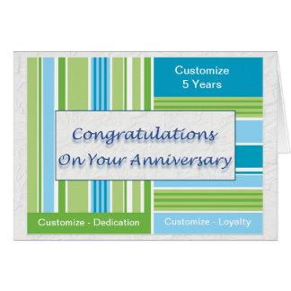 Employee Anniversary Greeting Card