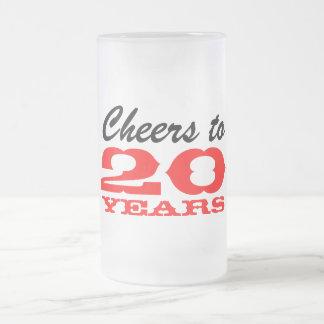 Employee appreciation mug | 20th anniversary party