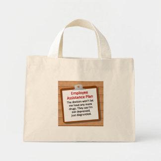 Employee Assistance Plan Mini Tote Bag