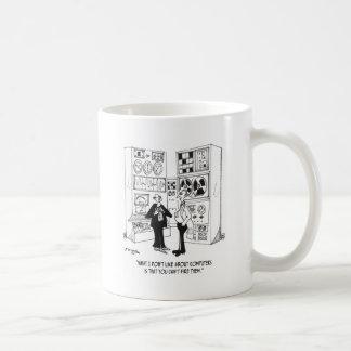 Employee Cartoon 4632 Coffee Mug