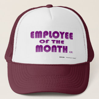 EMPLOYEE OF THE MONTH, biglins - Customized Trucker Hat