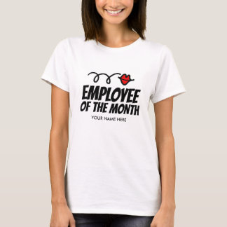 Employee of the month t shirt for best co worker