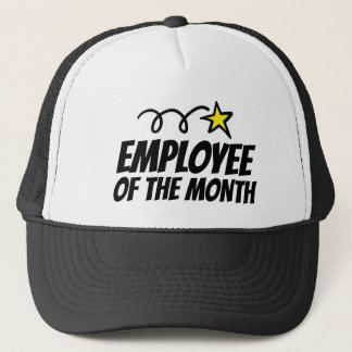 Employee of the month trucker hat for co worker