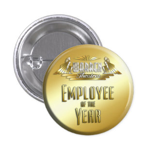 Employee of the Year 1 Inch Round Button