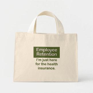 Employee Retention Mini Tote Bag