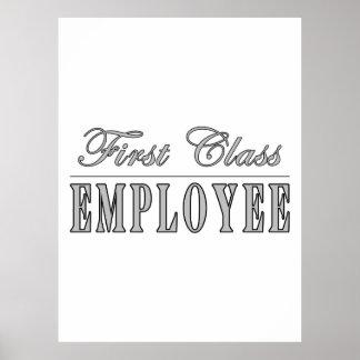 Employees First Class Employee Print