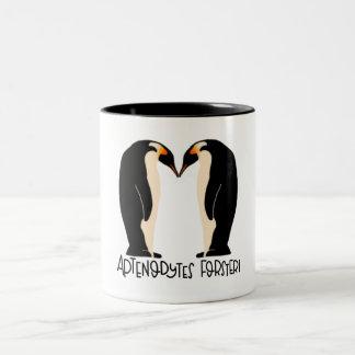 Emporer penguin mug