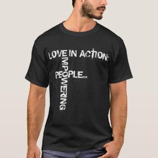 Empower - White Print T-Shirt