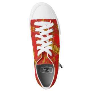 Empowered Heart Shoes Red